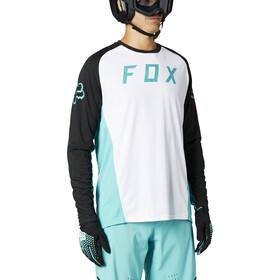 Fox Defend Langarm Trikot Herren weiß